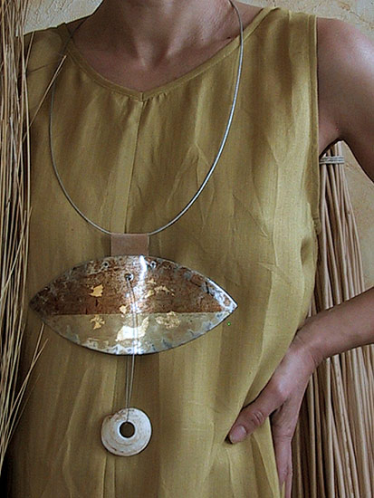 recycled-iron-necklace Jewellery