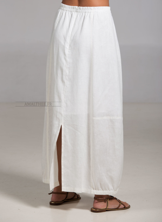 Off white linen Zoe skirt Skirts