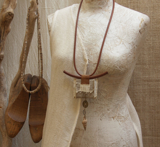 recycled necklace Jewellery