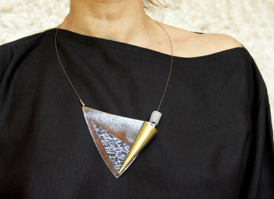 Contemporary jewel by french designer Jewellery