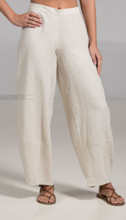 Linen Trousers Bulle( natural color) Trousers