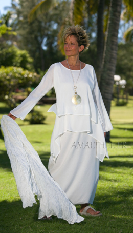 Mixed silk Chloé tunic Tops with sleeves