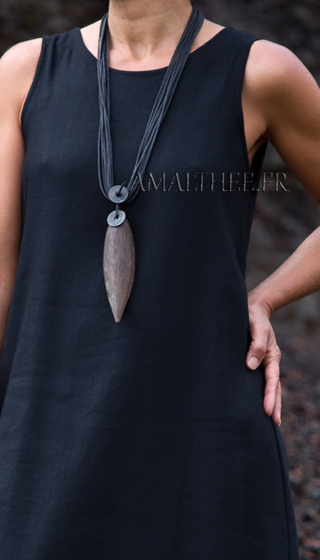 Natural jewelry : tropical seedpod necklace Jewellery
