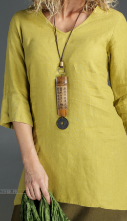 Meadow green Indie tunic Tunics