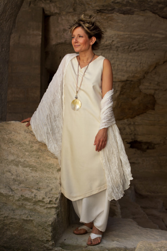 Beautifully elegant pure shantung silk  Tunic Looks Spring summer
